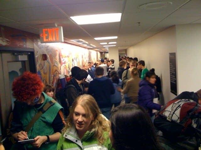 Line at the University of Minnesota