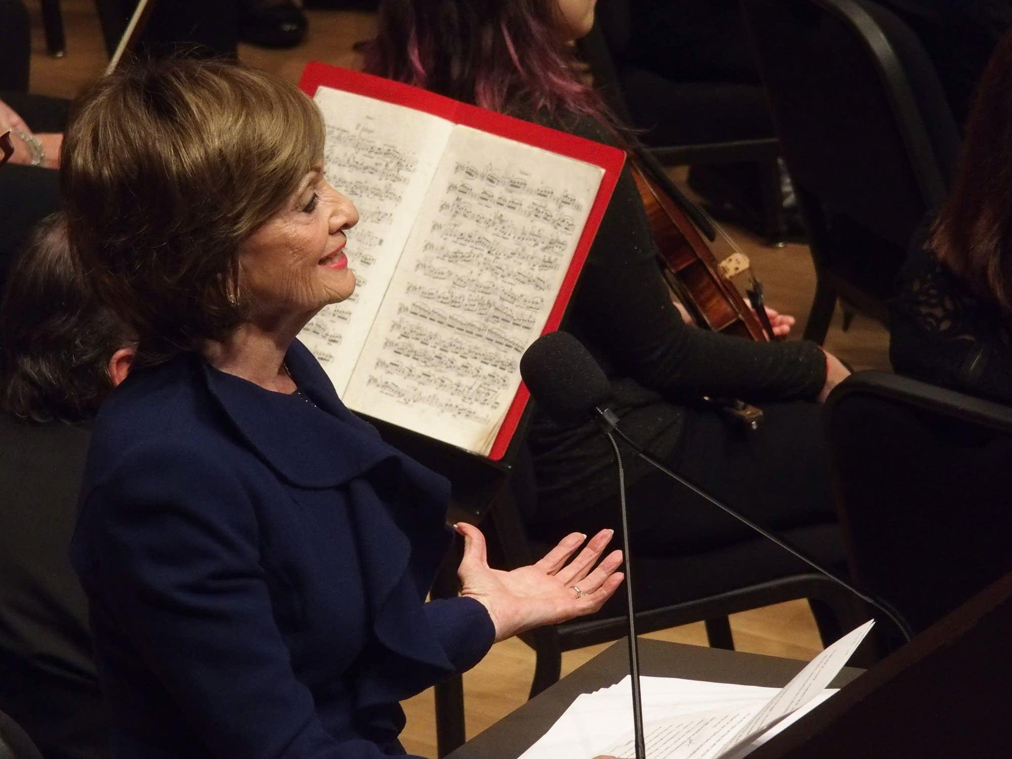 Minnesota Orchestra Board Chair Marilyn Carlson Nelson