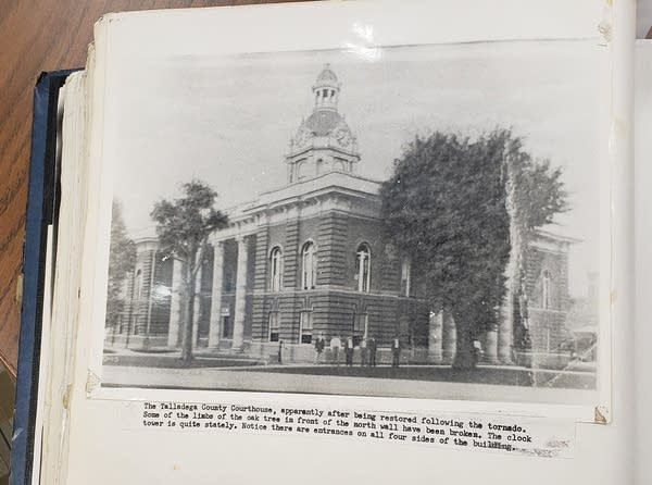 The Talladega County Courthouse