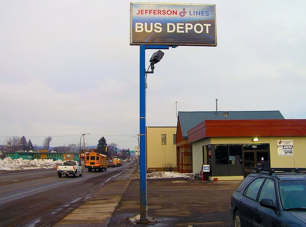 Duluth Greyhound Bus Depot