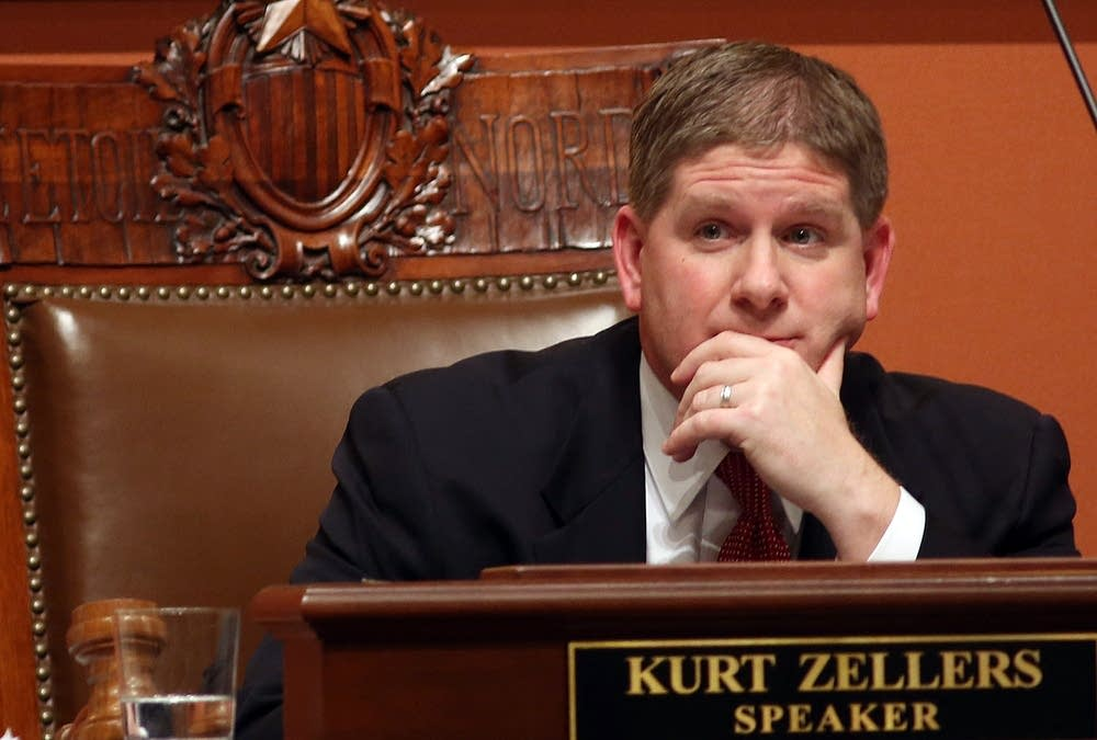 Speaker of the House Kurt Zellers