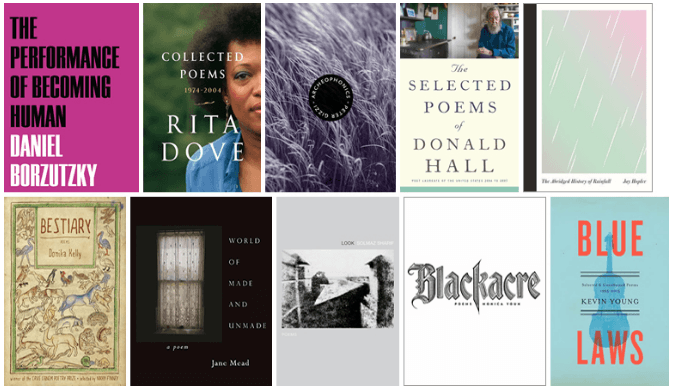 The National Book Award poetry longlist