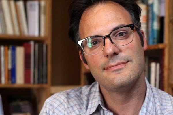 Matthew Palombo, a philosophy professor at MCTC
