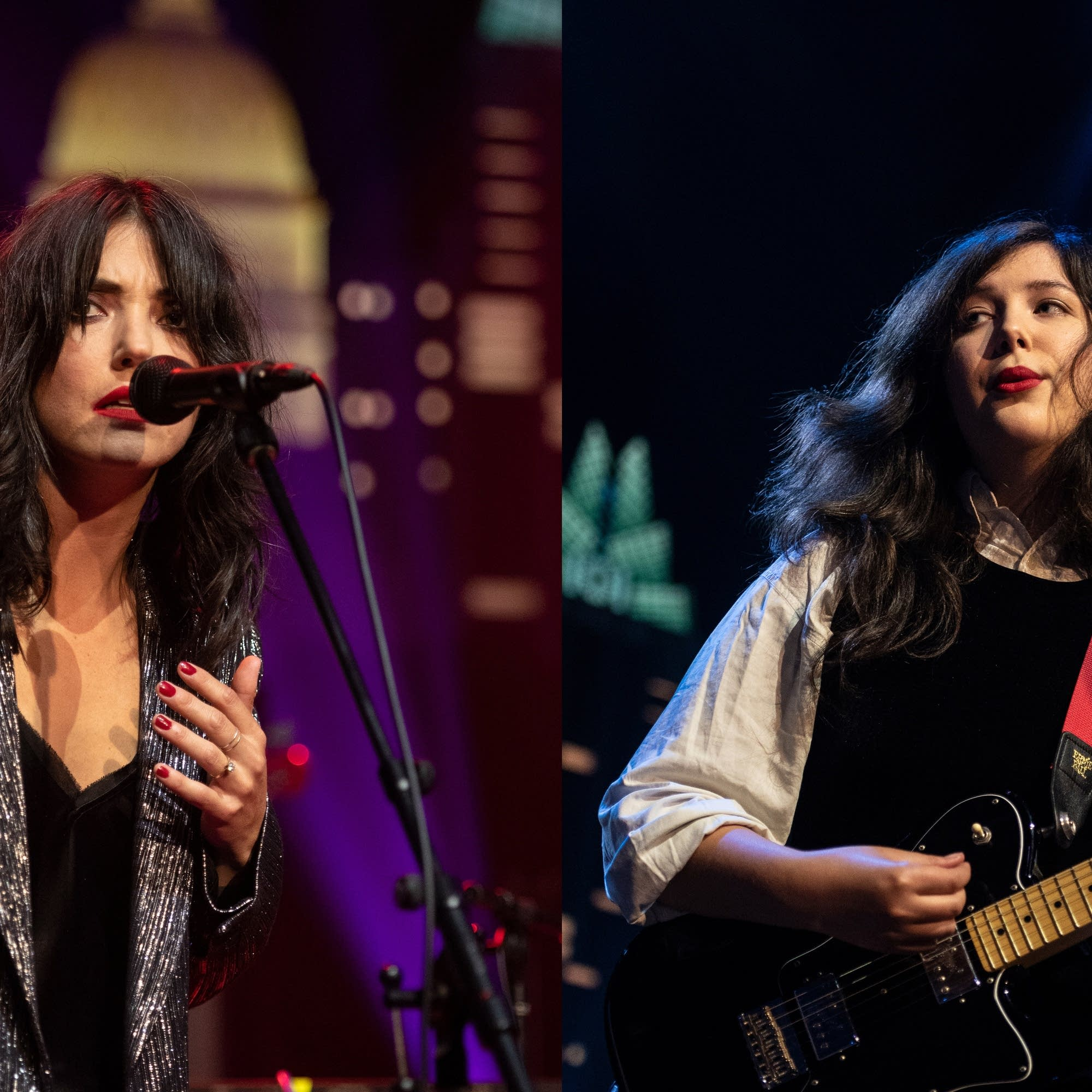 Sharon Van Etten and Lucy Dacus on 'Austin City Limits' on PBS