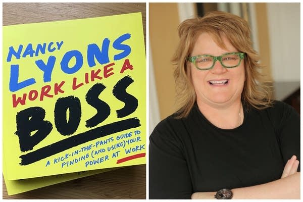 "Nancy Lyons, author of ""Work Like A Boss"""