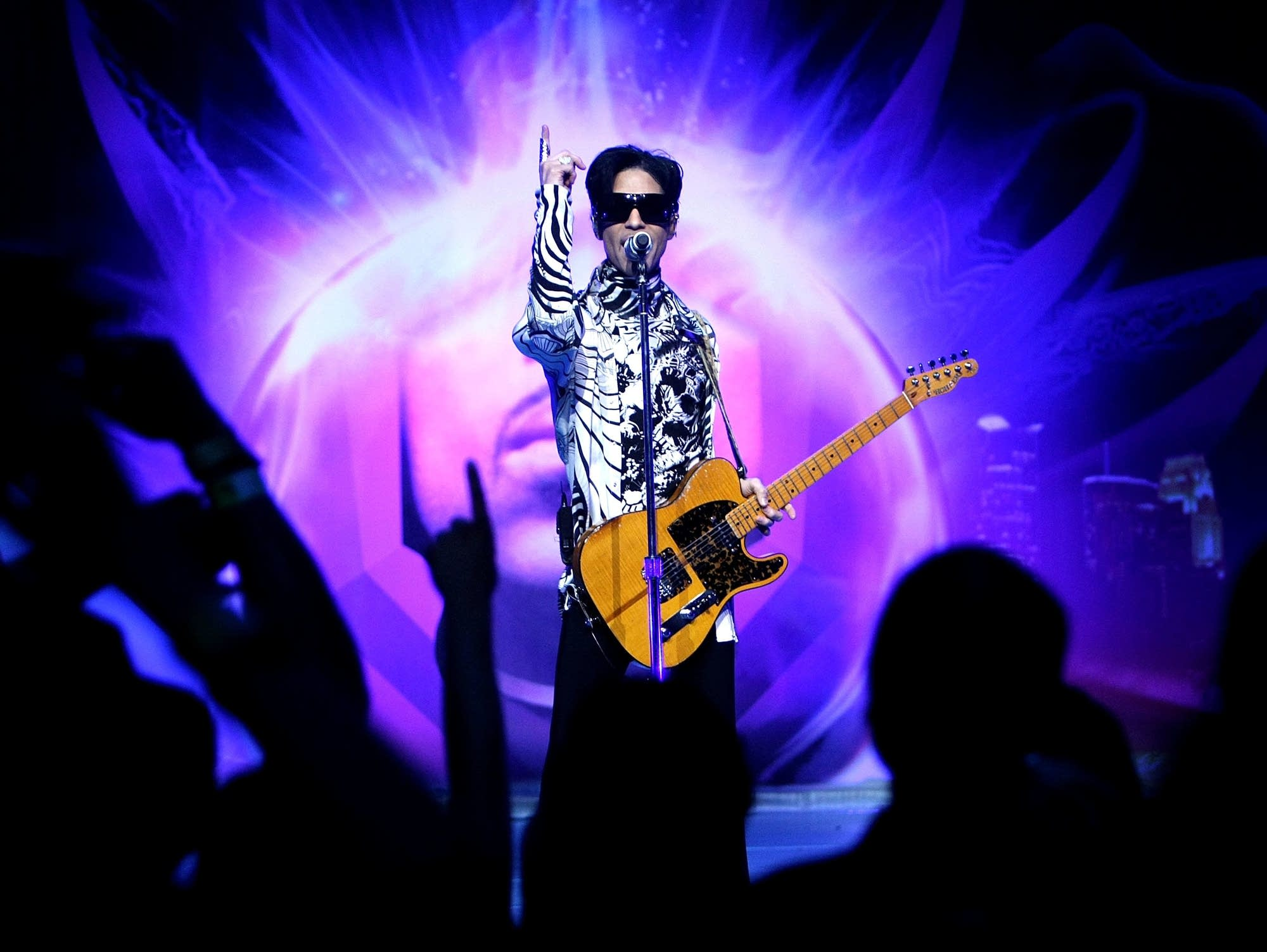Prince in Los Angeles, 2009