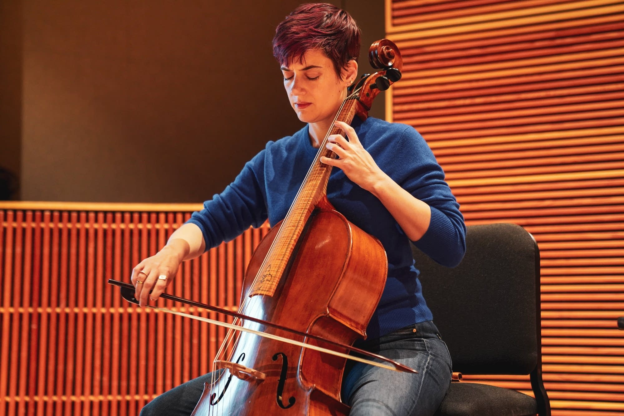 Cellist Juliana Soltis