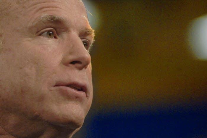 John McCain in Lakeville