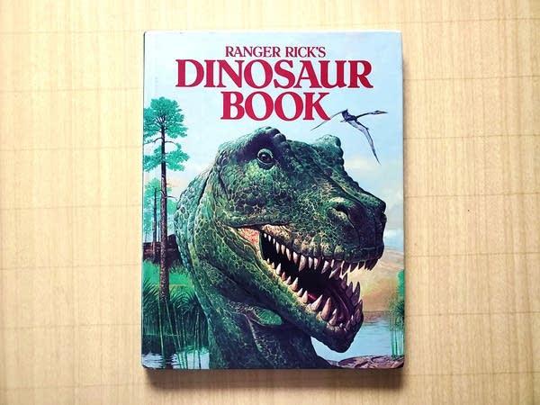 Andrew's Ranger Rick Dinosaur Book from 1984