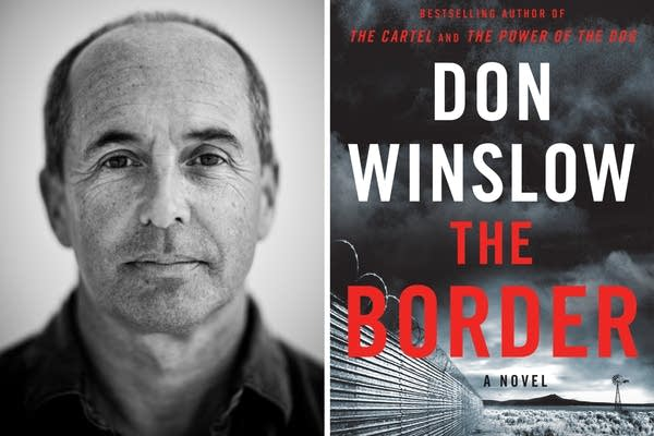 Novelist Don Winslow and his latest book 'The Border'