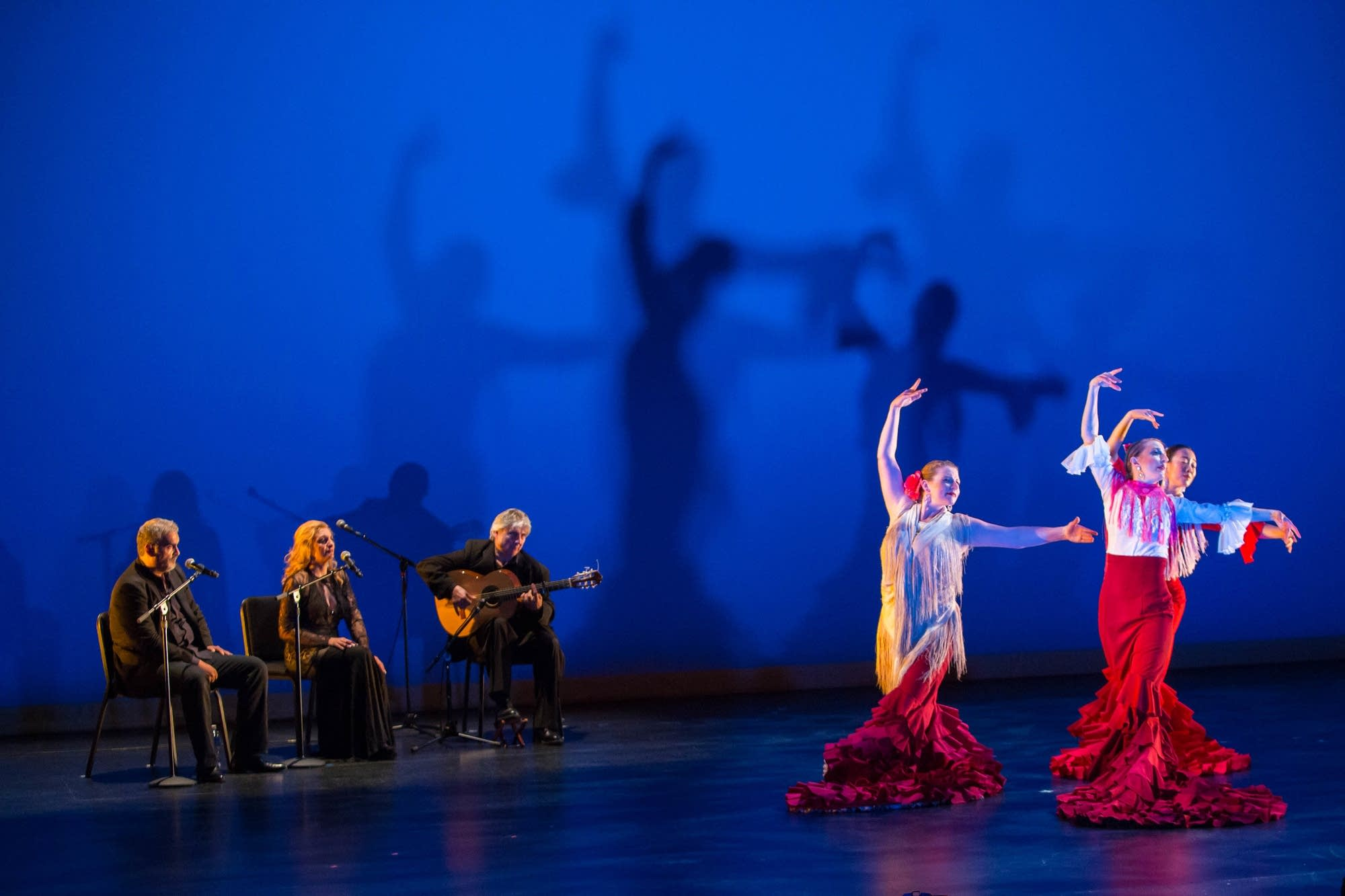 Zorongo Flamenco and Flying Foot Forum share the stage this weekend.