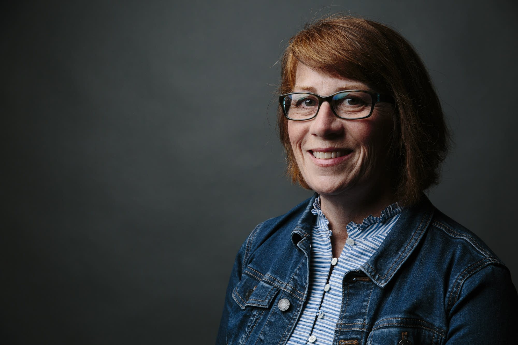 Erin Murphy sits for a portrait.
