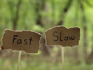 Fast or Slow Means Tempo