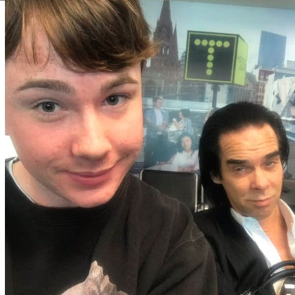 James Malcolm with Nick Cave
