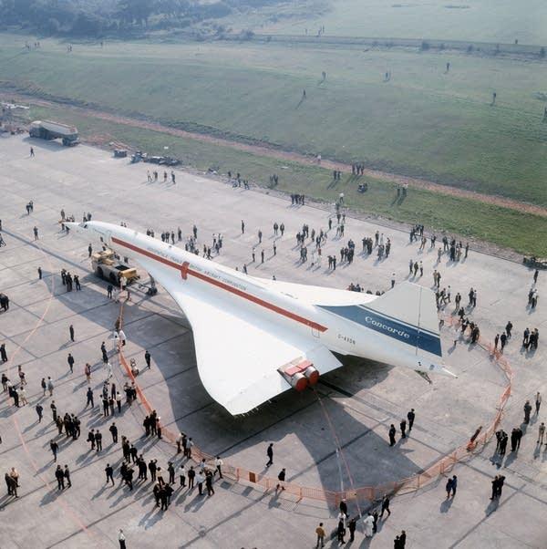 Concorde Debut, 1971