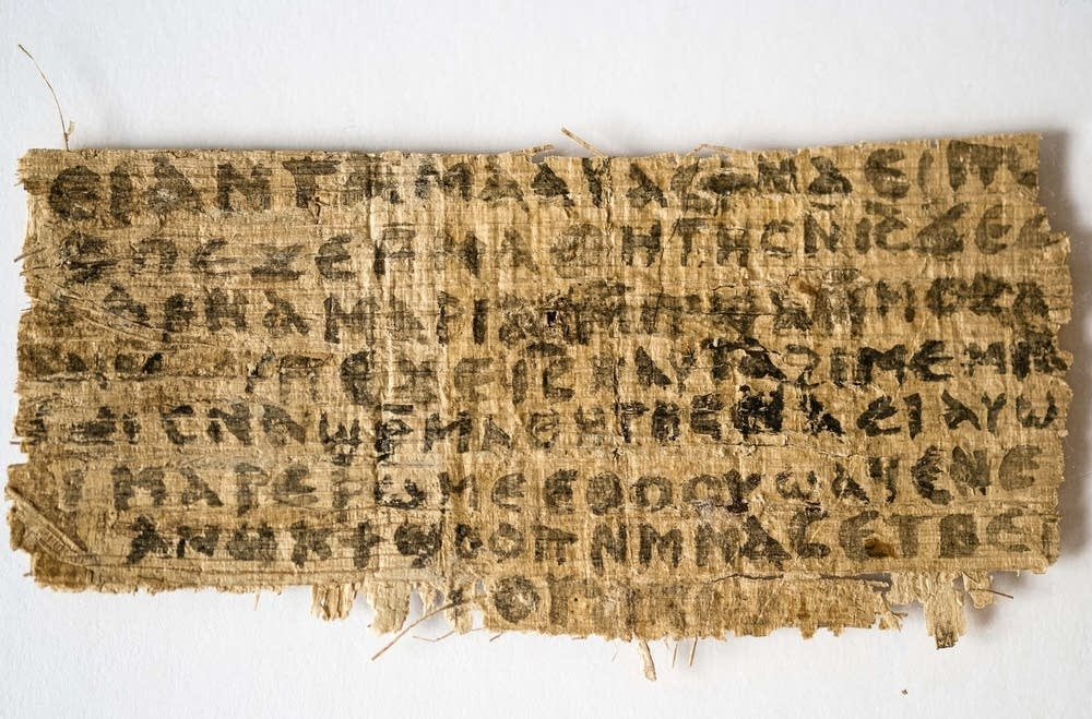 Christian papyrus