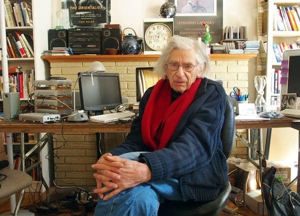 Al Milgrom sat at his editing desk.
