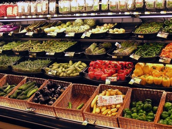 Cub Foods produce department