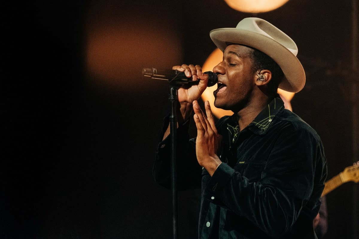 Leon Bridges on 'The Late Late Show with James Corden' on CBS