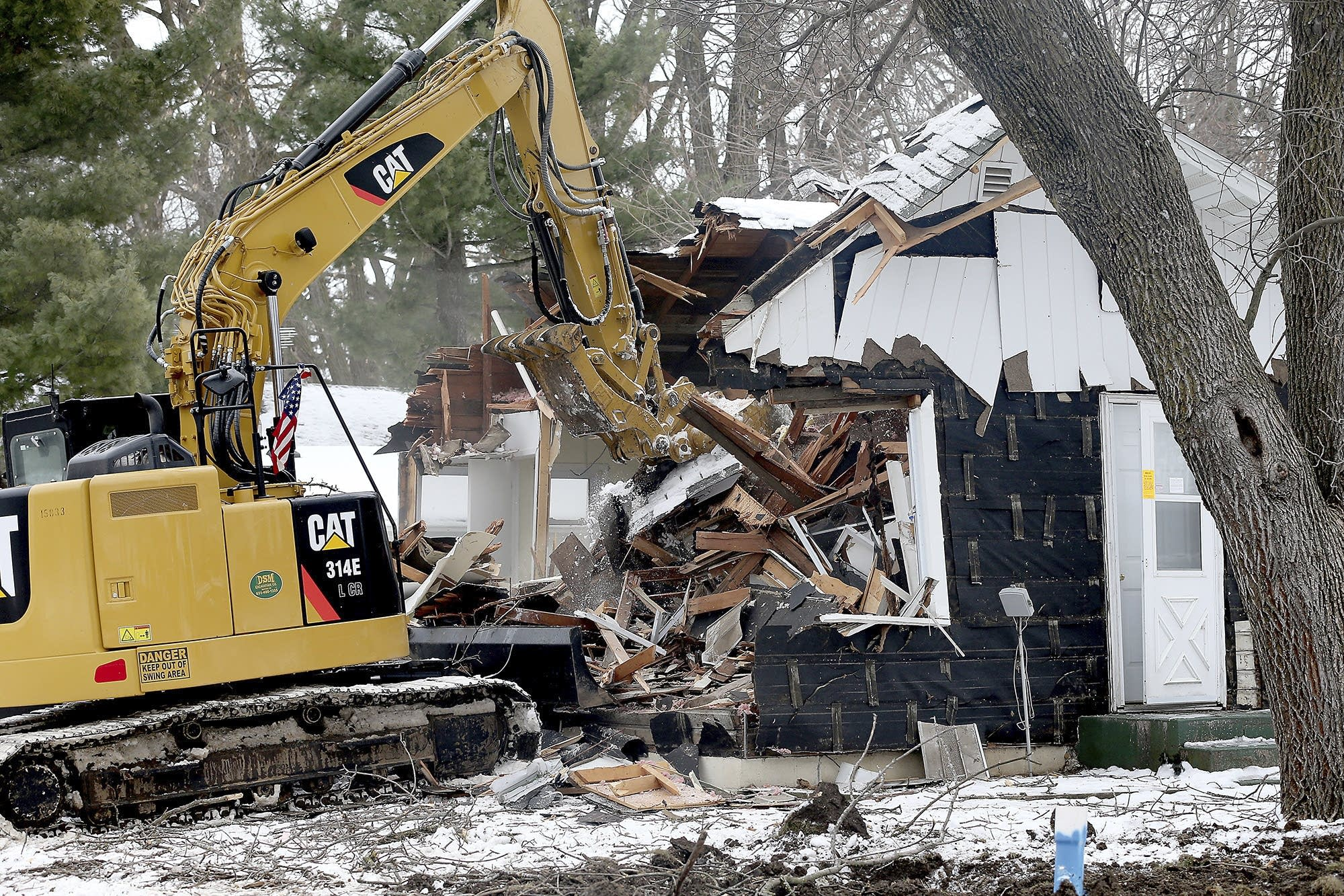 Danny Heinrich's Former Annandale Home Demolished