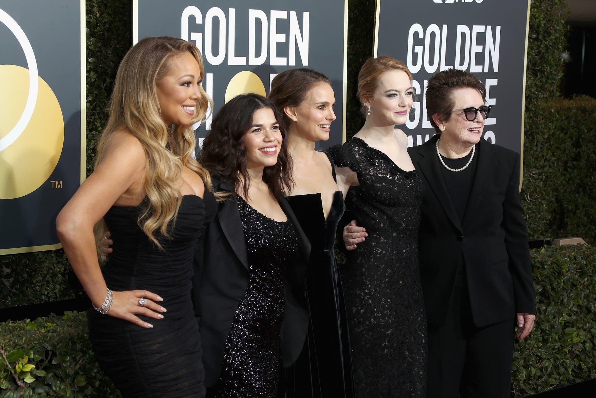 Mariah Carey, America Ferrera, Natalie Portman, Emma Stone,Billie Jean King