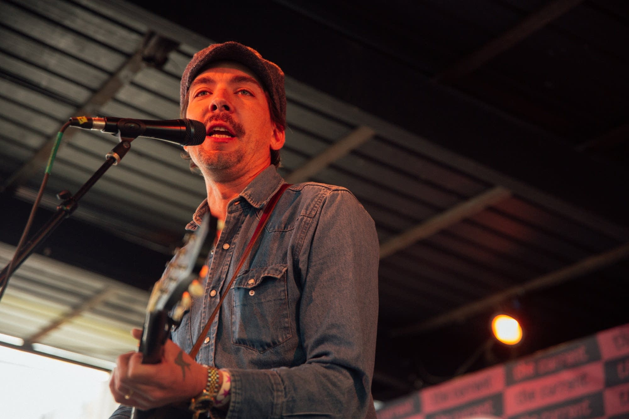 Justin Townes Earle performs at The Current Day Party during SXSW