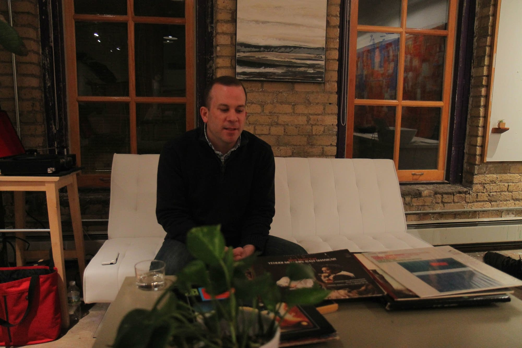 Jim O'Neill talks about a vinyl collection he inherited.
