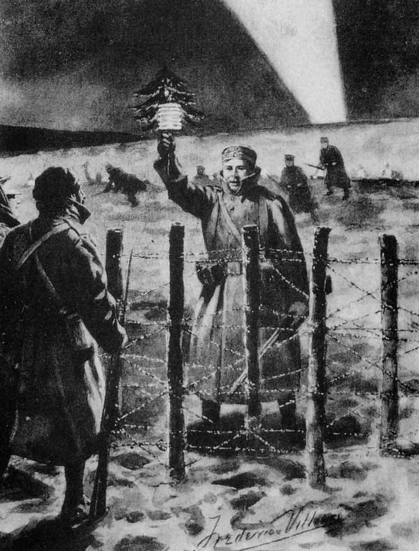 Christmas 1914.All Is Calm The Christmas Truce Of 1914 Mpr News
