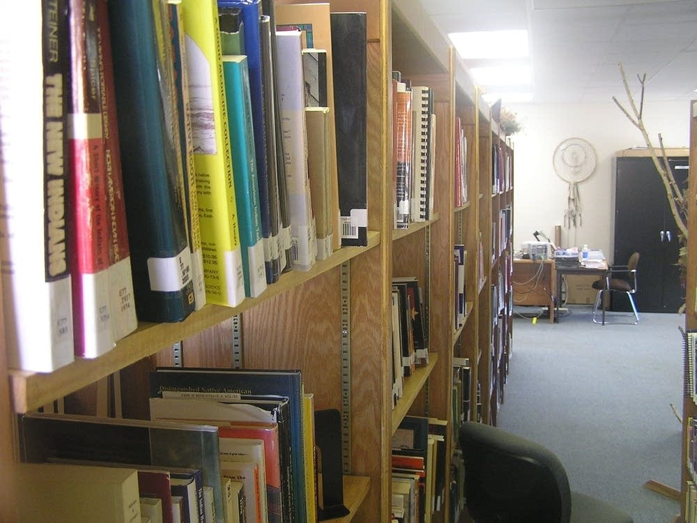 Tribal college library