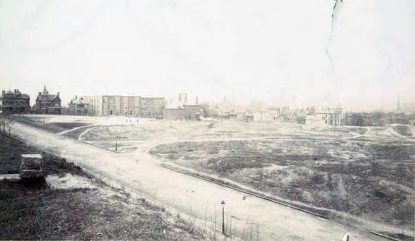 Capitol site, looking south