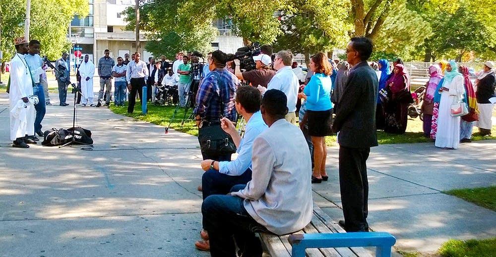 Somali-Americans gathering
