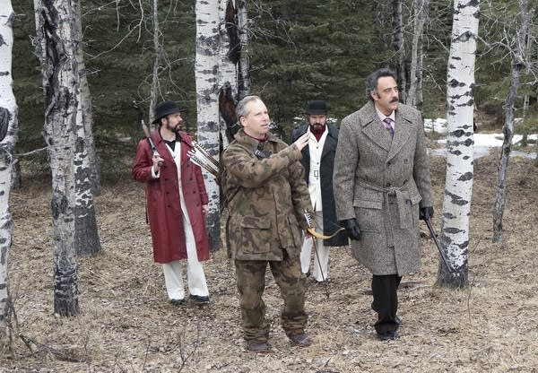 Deer hunting in 'Fargo'