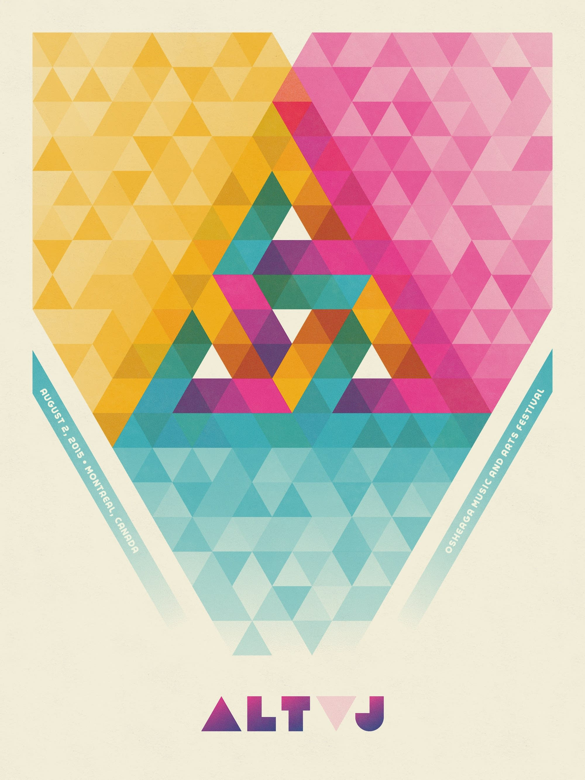 Alt-J poster, from