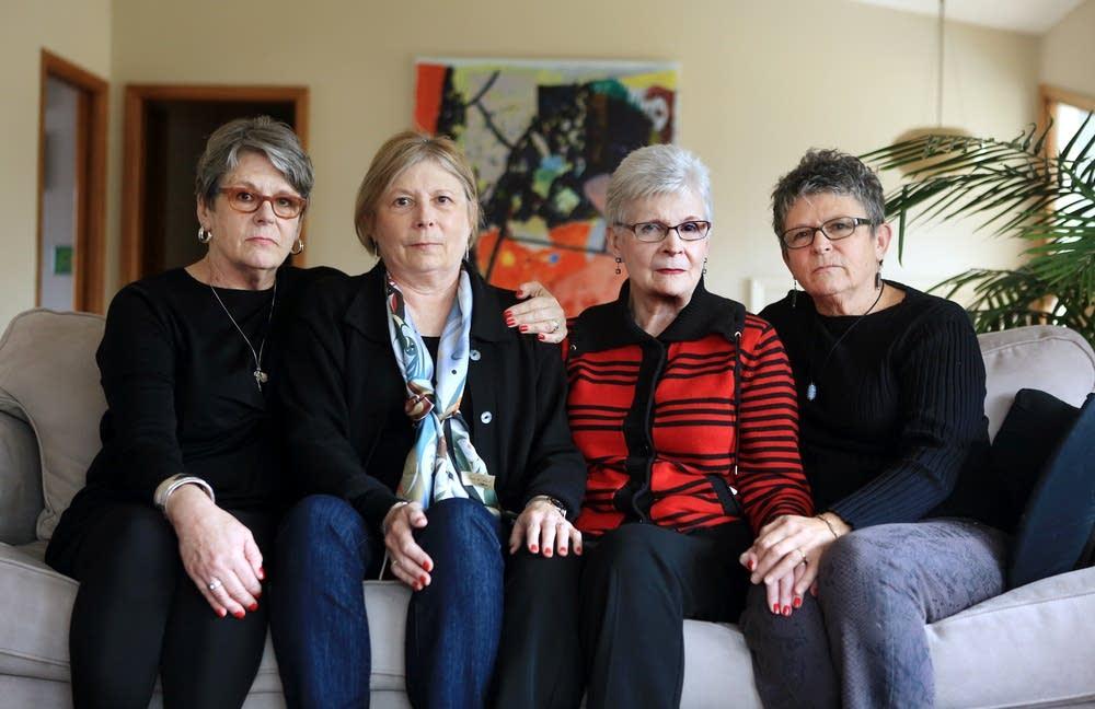 The Meyers sisters Kate, Miriam, Barbara and Nancy