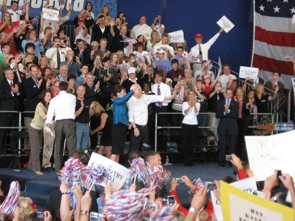 McCain and Palin in Blaine