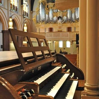 The organs of Christ Church Cathedral, Rochester, NY.