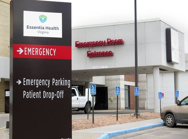 The city-owned hospital in Virginia.