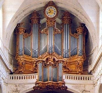 1755 Clicquot organ at the Église Saint-Roch, Paris, France