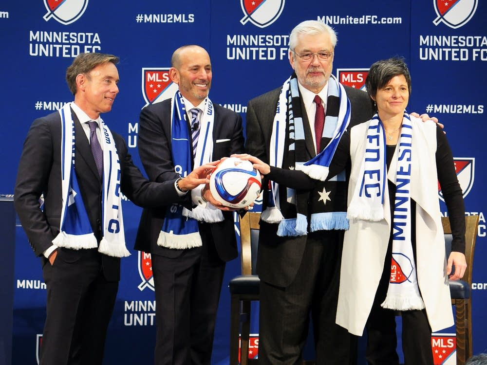 MLS soccer team coming to Minneapolis