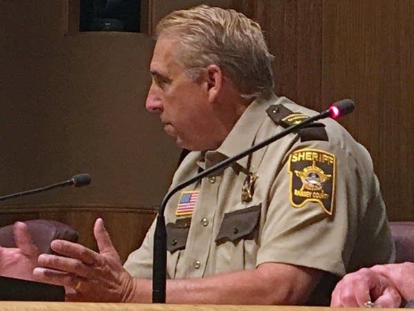 Ramsey County Sheriff Bob Fletcher discusses a plan for body cameras