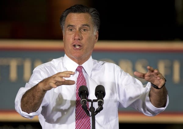 Romney Takes Campaign On Small Town Swing Mpr News
