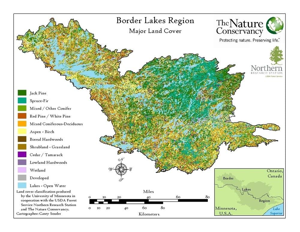 Border Lakes Region