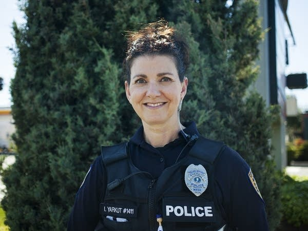 Police officer Inci Yarkut