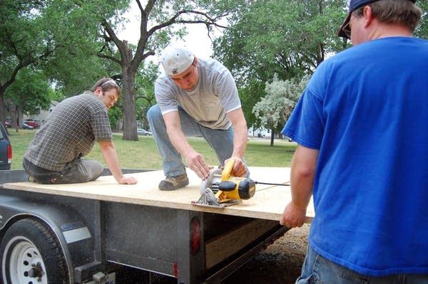 Solar house construction