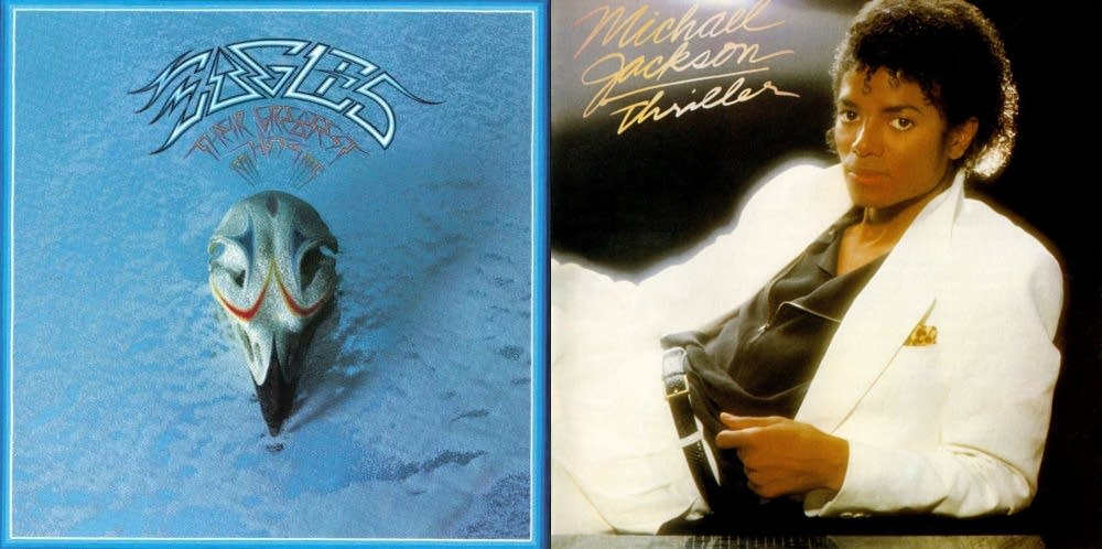 Eagles' 'Greatest Hits' and Michael Jackson's 'Thriller.'