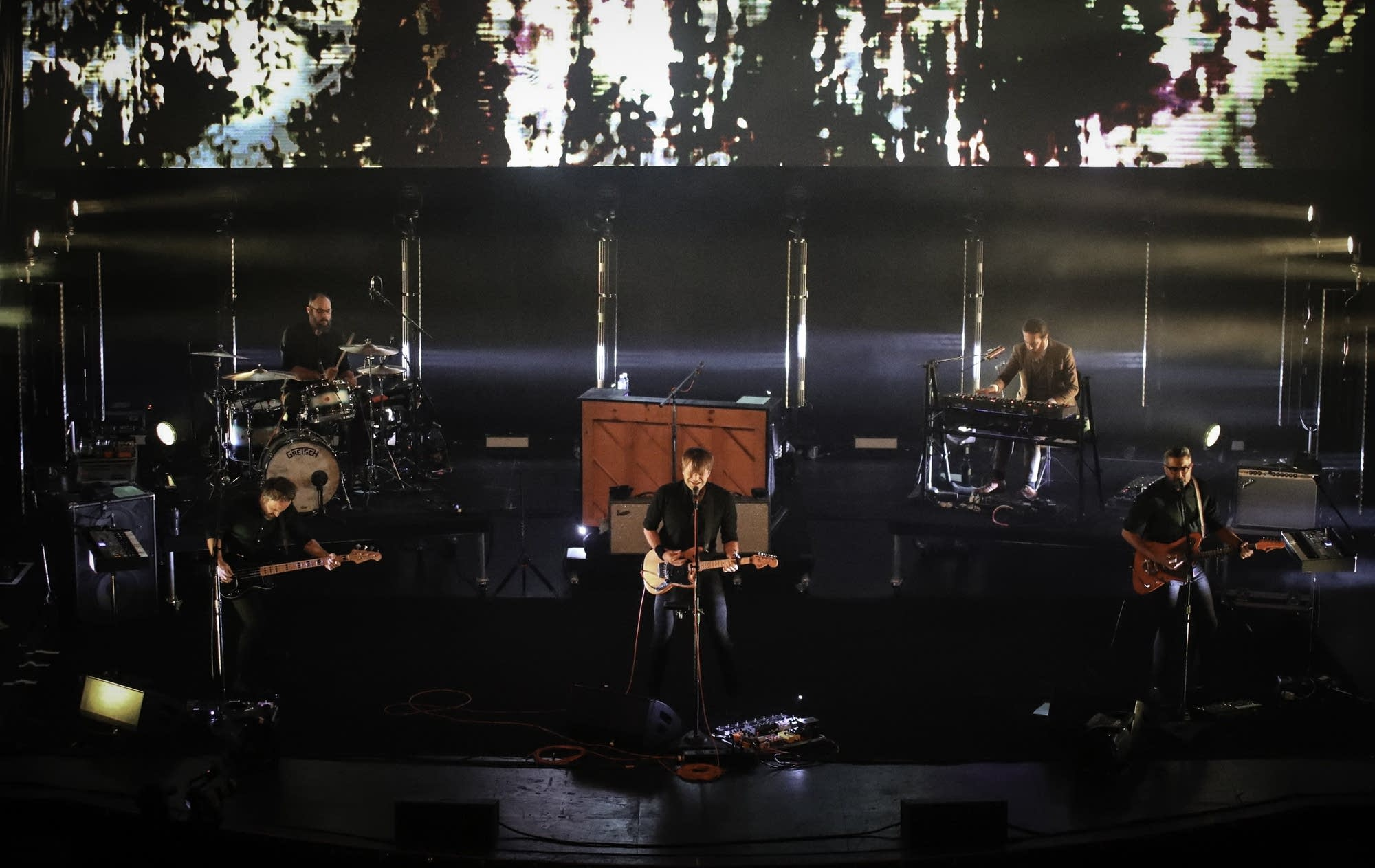 Death Cab for Cutie in concert at the Palace Theatre in St. Paul