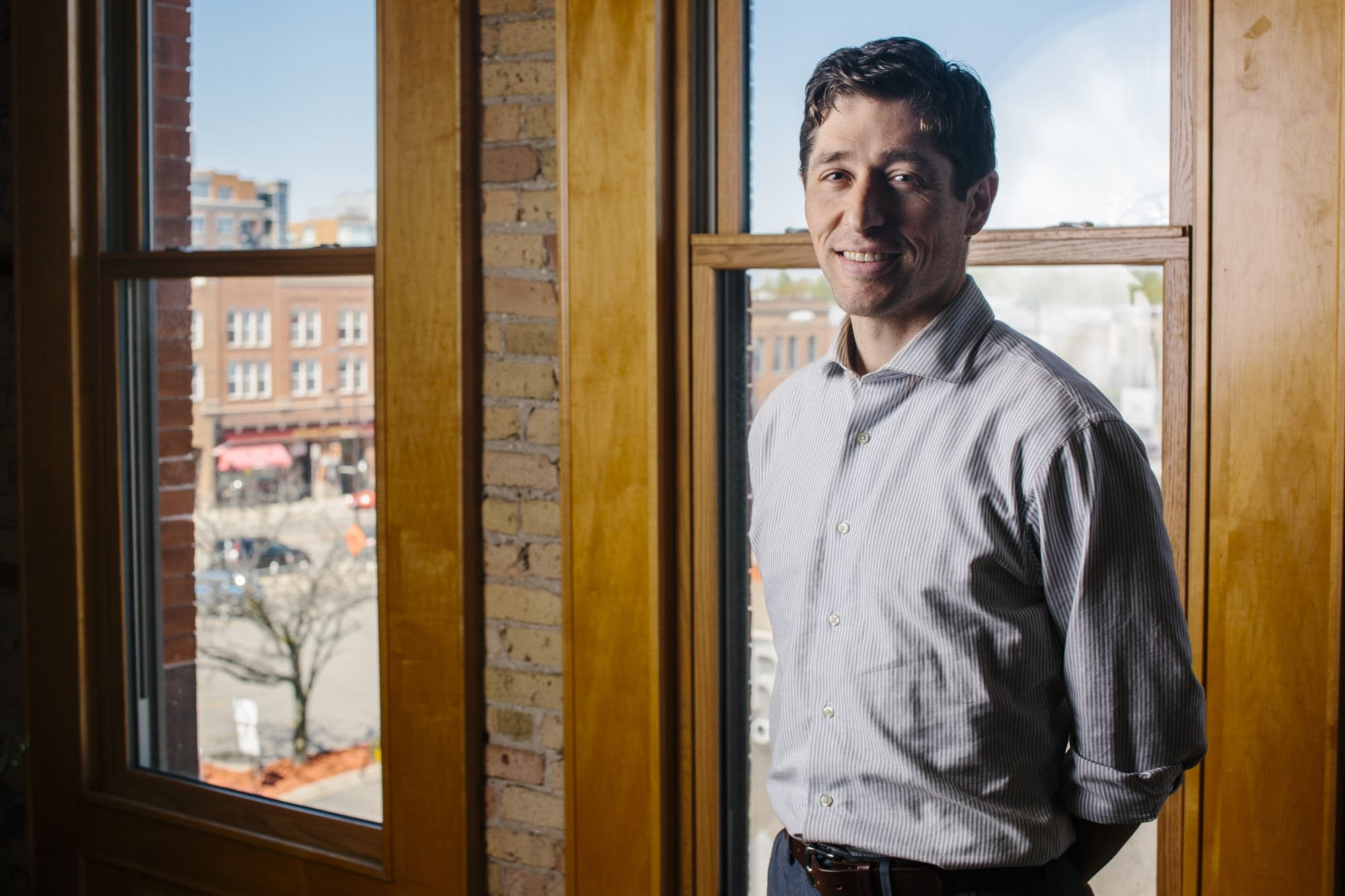 Minneapolis mayoral candidate Jacob Frey.