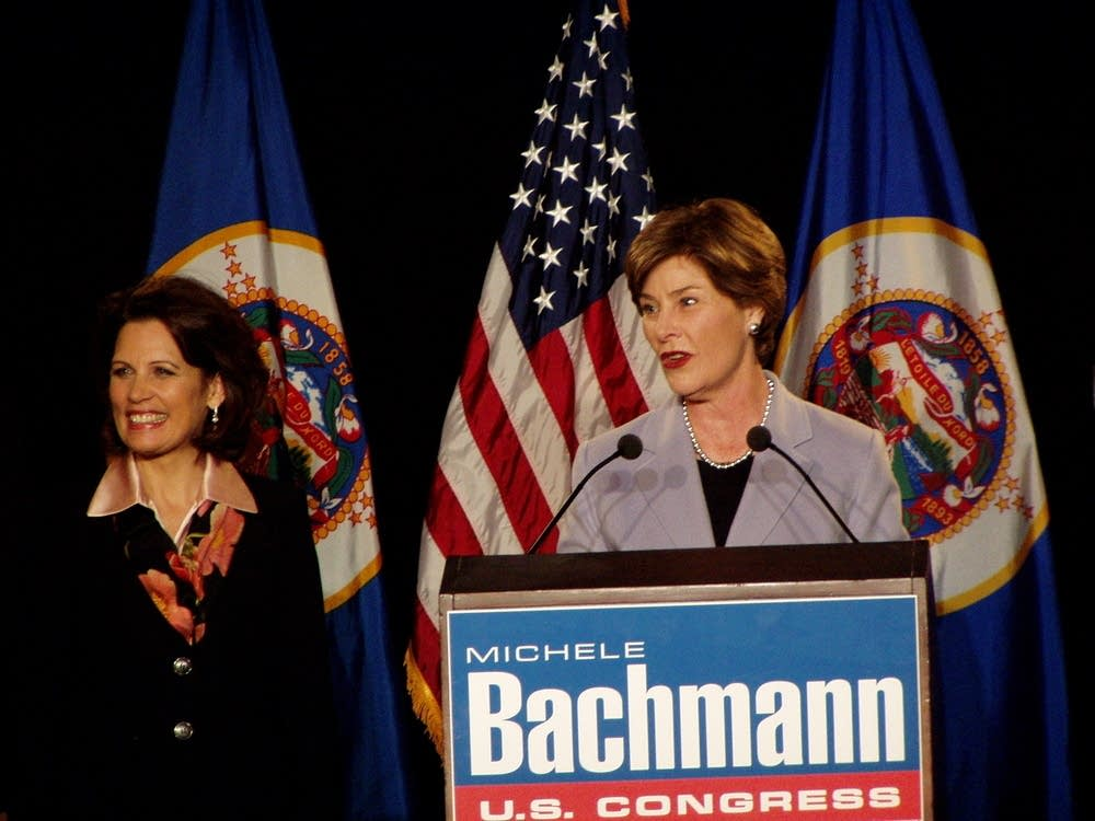 Bush and Bachmann