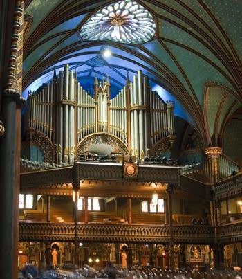 1891; 1924; 1991 Casavant Frères organ at Basilique de Notre-Dame, Montréal, Québec, Canada