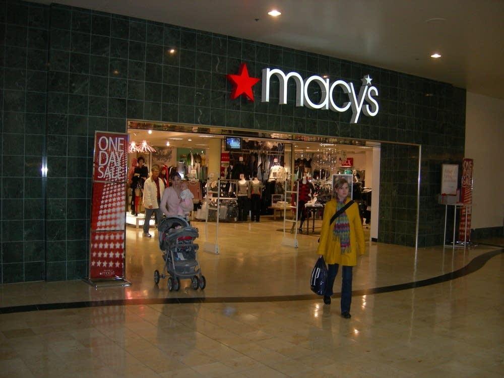 Macy's: down 13.3 percent